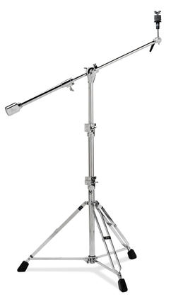 DW Super-Heavy-Duty Straight/Boom Cymbal Stand With Mega Tripod Base