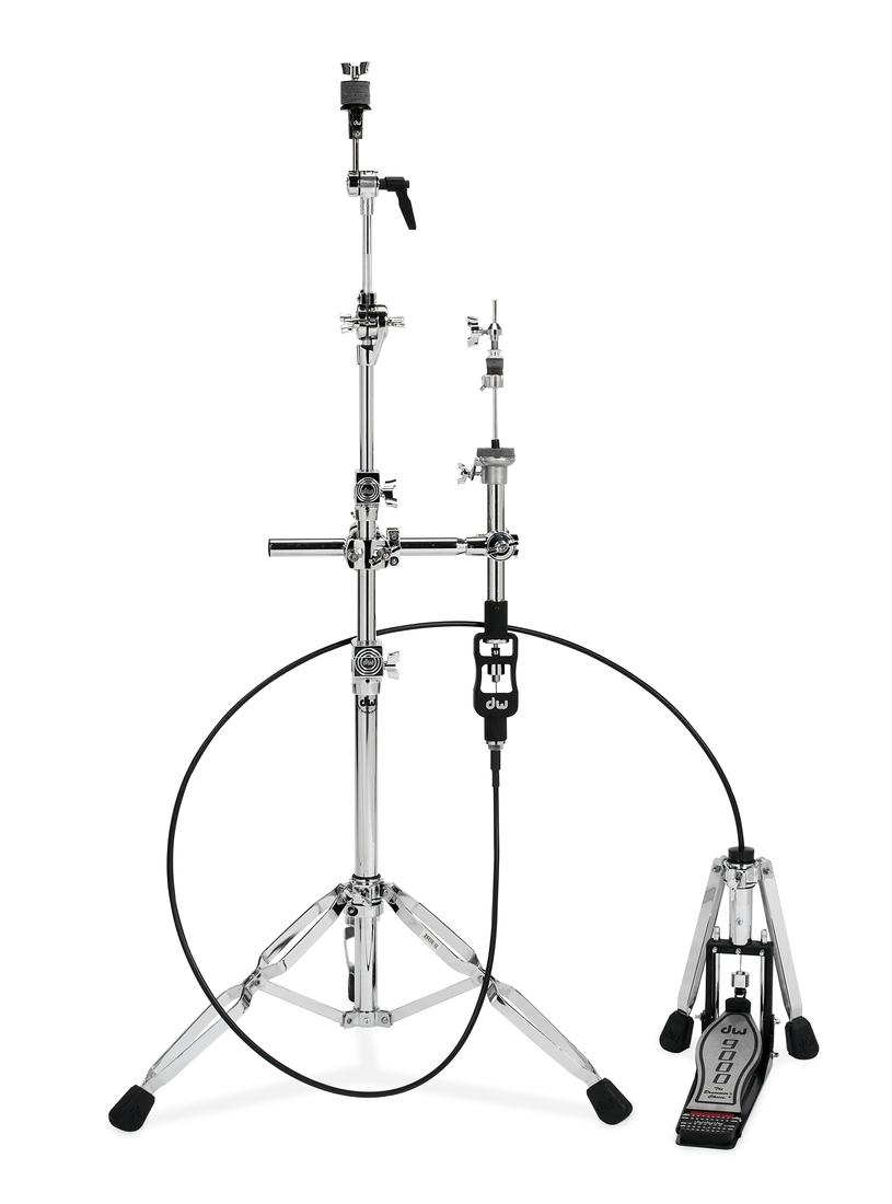 dw 9000 series 4 foot remote drum hi hat stand rainbow guitars. Black Bedroom Furniture Sets. Home Design Ideas