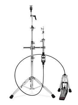 DW 9000 Series 8 Foot Remote Hi Hat Stand