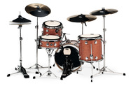 DW Complete Pad Set with Bass Drum, Cymbal, and Head Pads