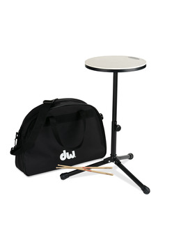 DW Practice Pad Stand & Bag
