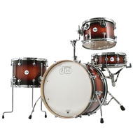 DW Frequent Flyer 4pc Shell Pack In Tobacco Burst
