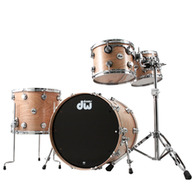 DW Collectors Series 4pc Cherry Shells In Satin Finish And Chrome Hardware