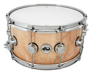DW Collectors Series Exotic 7x14 Angel Pearl Snare With Chrome Hardware