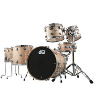 DW Collectors Series Exotic Curly Maple 6pc Shell Pack