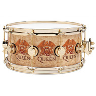 DW Collectors Exotic Snare Drum /  Icon Queen Roger Taylor Crest Inlay / Icons