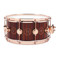 DW Colectors Exotic Snare / Icon / Neil Peart / Rush / Time Machine Wood Inlay