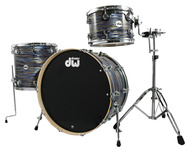 DW Collectors Series Finish Ply 3pc Shell Pack in Peacock Oyster