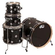 DW Collectors Series 4pc Shell Pack In Black Velvet Finish Ply SO 845767