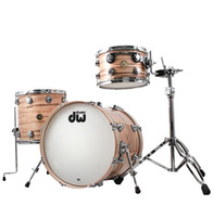 DW Jazz Series 3pc Shell Pack In Mineral Maple Natural Finish