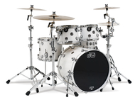 DW Performance Series 5pc Fusion Shell Pack In  White Ice