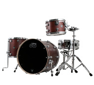 DW Performance Series 4pc Shell Pack In Tobacco Satin Oil Finish