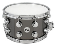 DW Nickel Over Brass 8 X 14 Snare With Chrome Hardware