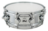 DW True Sonic 5x14 Chrome Over Brass Snare Drum