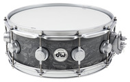 DW Collectors Series 5.5x14 Concrete Snare w/ Satin Chrom HW