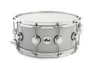 DW 6.5 x 14 Rolled Aluminum Snare With Chrome Hardware
