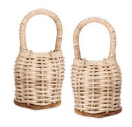 Gon Bops Caxixi Caxixi (pair, Same Size), Wicker Shakers
