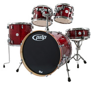 PDP By DW Concept Maple 5 Pc in Cherry Stain Lacquer