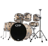 Pacific PDP By DW Concept Maple 7pc Shell Pack in Natural Lacquer