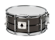 Pacific ACE 6.5 X 14 Black Nickel Over Brass Snare