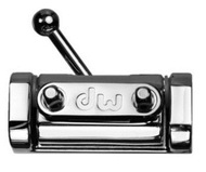 DW Three Position Butt Plate, Chrome