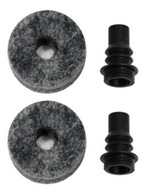 DW Drum Workshop Barbed Cymbal Stem With Felt (2 Pack)