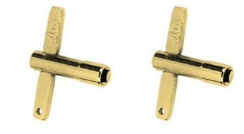 DW Drum Workshop Gold Drum Key 2 Pack