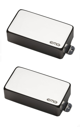 EMG 81/85 Pickup Set Chrome Covers