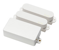 EMG SA/SA/81 Active Strat Combination Pickup Set White with Free Mogami 18-Foot Cable
