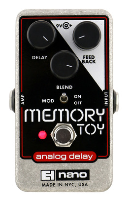 Electro Harmonix Memory Toy Analog Echo with Chorus
