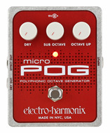 Pre-Owned Electro Harmonix Micro POG Pedal Polyphonic Octave Generator