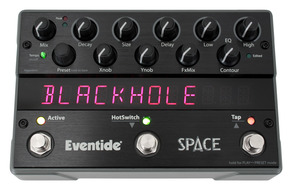 Eventide Space Reverb Stompbox pedal