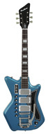 Eastwood Airline 59 Custom 3P G. Love Black & Blue