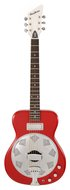 Eastwood Airline Folkstar Resophonic Guitar Red