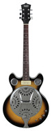 Eastwood Delta 6 Electric Resonator Sunburst
