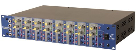 Pre-Owned Focusrite ISA828 8-Channel Microphone Preamp