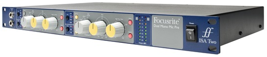 Focusrite ISA Two Dual Channel Microphone Preamp