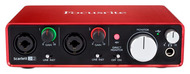 Focusrite Scarlett 2i2 Second Generation USB Interface