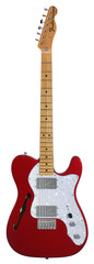 Fender American Vintage 72 Telecaster Thinline Candy Apple Red