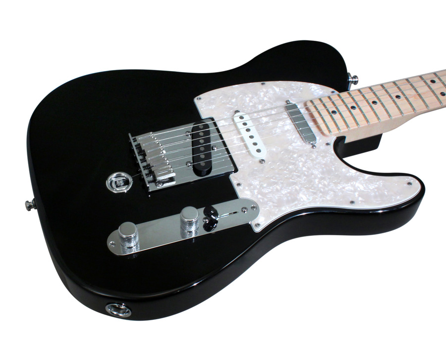 fender electric guitar american nashville b bender telecaster black rainbow guitars. Black Bedroom Furniture Sets. Home Design Ideas