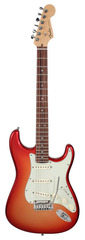 Pre-Owned Fender 2012 American Deluxe Stratocaster Sunset Metallic