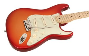 2011 American Deluxe Stratocaster Sunset Metallic