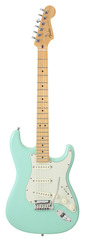 Fender American Deluxe Stratocaster Maple V-Neck Surf Green