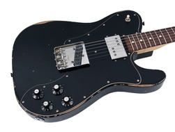 Road Worn 1972 Telecaster Custom Black