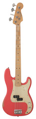 Fender Road Worn 50s Precision Bass Fiesta Red
