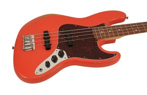 Road Worn 60s Jazz Bass Fiesta Red