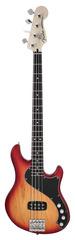 Fender Deluxe Dimension Bass IV Aged Cherry Burst