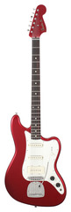 Fender Pawn Shop Bass VI Bass Guitar Candy Apple Red
