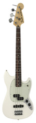 Fender Mustang Bass PJ Olympic White