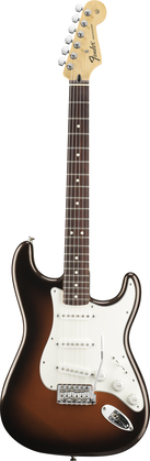 Fender Standard Stratocaster Copper Metallic Burst
